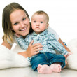 Mother with a baby — Stock Photo #5895991