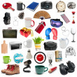Set of different objects — Stockfoto