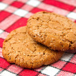 Stock Photo: Oats cookies