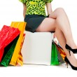 Woman with shopping bags — Stock Photo #6389041