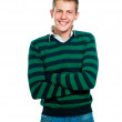 Young man looks into the camera — Stock Photo #6576421