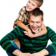 Father and son — Stock Photo #6576487