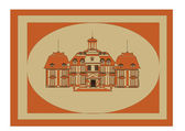 Picture of the old castle. Vector — Stock Vector