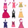 Royalty-Free Stock Vectorielle: Masquerade costumes vector