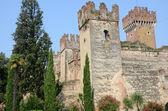 Stadtmauer in Lazise (Italien) — Stock Photo