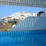 Whirlpool im Hotel - Imerovigli - Santorin - Griechenland — Stock Photo