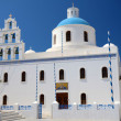 Stock Photo: Kirche in Oi- Santorin - Griechenland