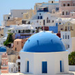 Kirche in Oia - Santorin - Griechenland - Stock Photo