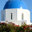 Kapelle in Oia - Santorin - Griechenland - Stock Photo