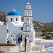 Stock Photo: Kirche in Pirgos - Santorin - Griechenland