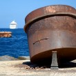 Stock Photo: Hafen in Fira- Santorin - Griechenland