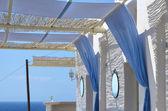 Oase der Entspannung - Santorin - Griechenland — Stock Photo