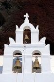 Kapelle am Red Beach - Akrotiri - Santorin - Griechenland — Stock Photo