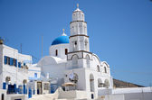 Kirche in Pirgos - Santorin - Griechenland — Stock Photo