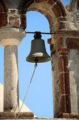 Kapelle in pirgos - santorin - griechenland — Stockfoto