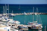 Hafen in Vilchada - Santorin - Griechenland — Foto Stock