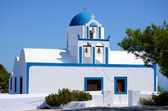 "Kapelle ""Profitis Ilias"" - Santorin - Griechenland — Stock Photo"