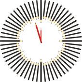 карандаш часов — Cтоковый вектор