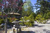 Serenity gardens at Japanese internment camp, New Denver BC — Stock Photo