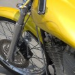 Motorbike low rider detail - Stock Photo