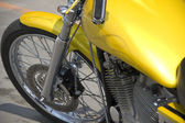 Motorbike low rider detail — Stock Photo