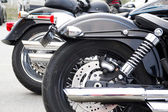 American Motorcycles parked — Foto de Stock