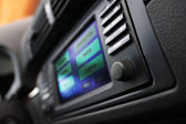 Cars multimedia system display. — Stock Photo