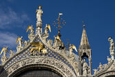 Detail of St Mark`s basilica — Stock Photo
