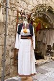 Croatian National Costume — Stock Photo