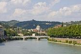 River Adige — Stock Photo