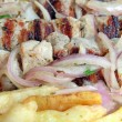 Royalty-Free Stock Photo: Souvlaki closeup