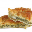 Stock Photo: Spinach pie