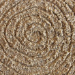 Spiral in the sand — Stock Photo