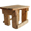 Handmade stool — Stock Photo