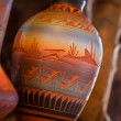 Native American Pottery Vase — Photo