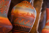 Native American Pottery Vase — Stock Photo