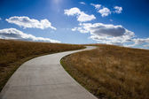 Path to the sky — Stock Photo