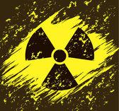 Radiation — Stock Vector