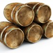 Old barrels - Foto Stock