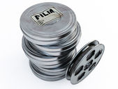 Film cans — Stock Photo