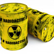 Radioactive barrels — Stock Photo #5726151