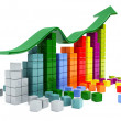 Business graph — Stock Photo #5757375