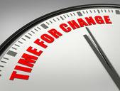 Tid för förändring — Stockfoto