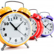 Stock Photo: Traditional alarm clock