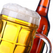 Beer background - Stock Photo