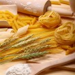 Pasta and spaghett — Stock Photo