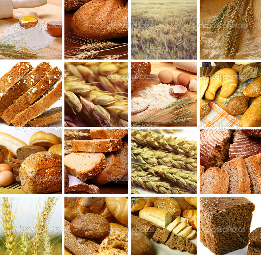 Assortment set of baked bread — Stock Photo #6208102