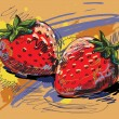 Royalty-Free Stock Vektorfiler: Strawberry