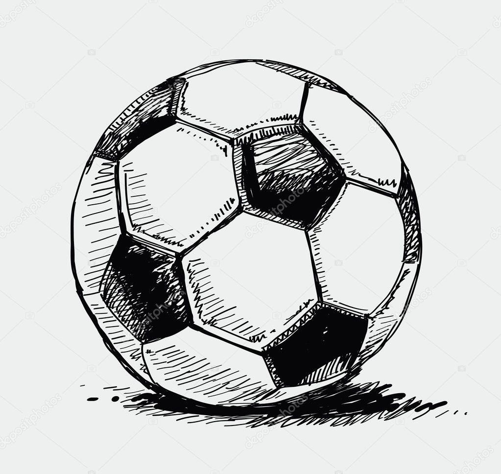 нарисовать картинку футбола - Футбол
