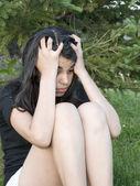 Depressed Teenager — Stock Photo